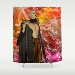 Merlin Shower Curtain