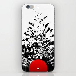 Vinyl shatter iPhone Skin