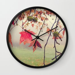 Autumn Dreams Wall Clock