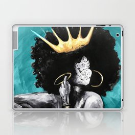 Naturally Queen VI  TEAL Laptop & iPad Skin