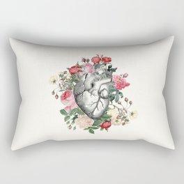 Roses for her Heart Rectangular Pillow