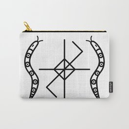 OAK WITCH BLACK SERPENT SIGIL Carry-All Pouch