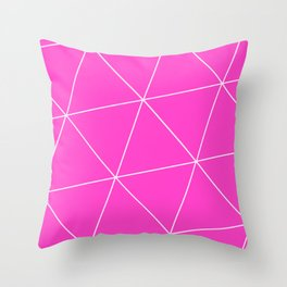 Ion Triangle Throw Pillow