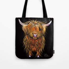 HiGHLaND CoW PRiNT SCoTTiSH ' HuMPHReY ' BY SHiRLeY MacARTHuR Tote Bag