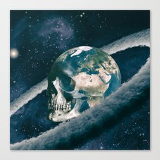The Old Traveller Canvas Print