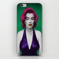 monroe iPhone & iPod Skins featuring Monroe by POP Prints by FMcLaws
