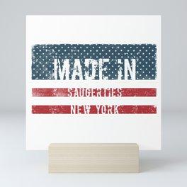 Made in Saugerties, New York Mini Art Print