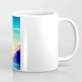 Cleveland Volcano Alaska travel poster Coffee Mug