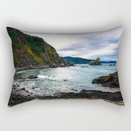 Basque Coast Rectangular Pillow