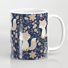 autumn and the fox Coffee Mug