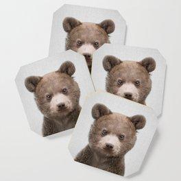 Baby Bear - Colorful Coaster