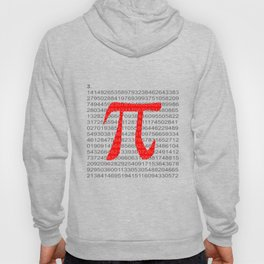 The Constant Pi Hoody
