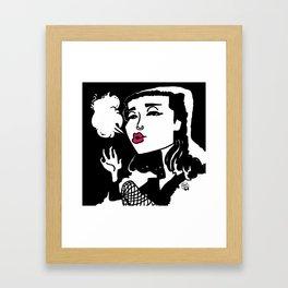 Queen of Winter Framed Art Print