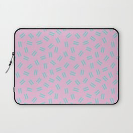 Postmodern Ants in Pink Laptop Sleeve