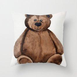 Chubster the Teddy Throw Pillow