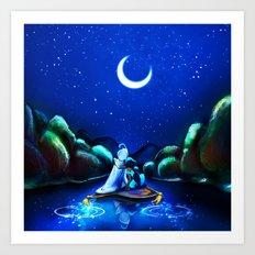 Starry Night Aladdin Art Print