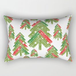 Christmas trees. Rectangular Pillow