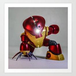 iron guy Art Print