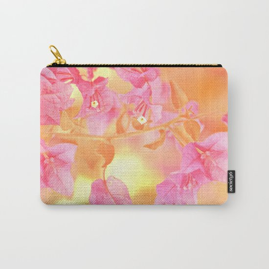 Sunny Bougainville(4) Carry-All Pouch