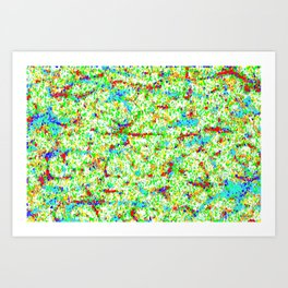 Confetti Art Print