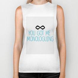 Syndrome Monologuing Biker Tank