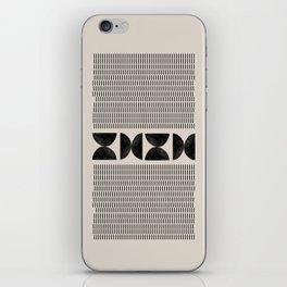 Mid Century Modern Geometric iPhone Skin