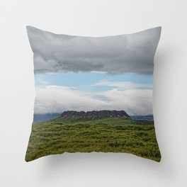 Past Is Prologue Throw Pillow