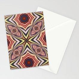 cruz abstracta Stationery Cards