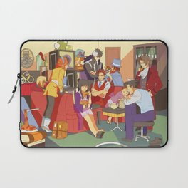 the wright anything agency Laptop Sleeve