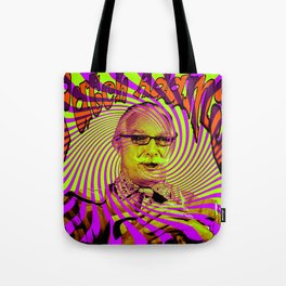 Psychedelic Patch Adams  Tote Bag