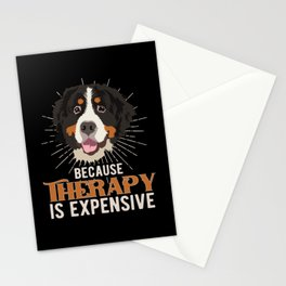 Bernese Mountain Dog  Funny Gift Idea Stationery Cards