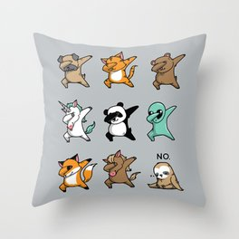 Dabbing Party Throw Pillow