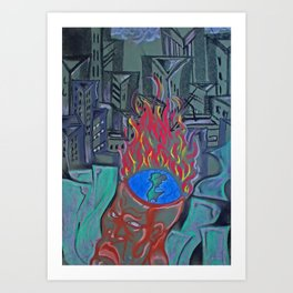 Occupied Art Print
