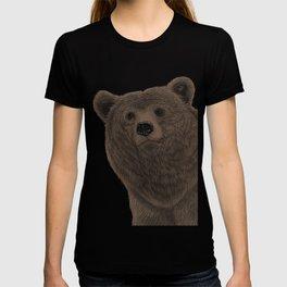 Shaggy bear. T-shirt