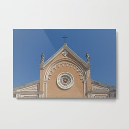 Portoferraio Cathedral - Elba-Island -Italy Metal Print