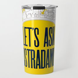 Let's Ask Nostradamus (1953) - Vintage Film Poster Travel Mug