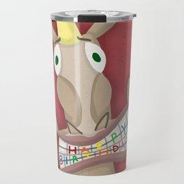 Happy Birthday Unicorn Travel Mug