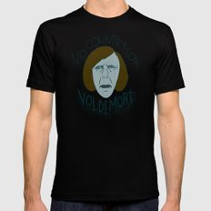 NO COUNTRY FOR VOLDEMORT Mens Fitted Tee MEDIUM Black