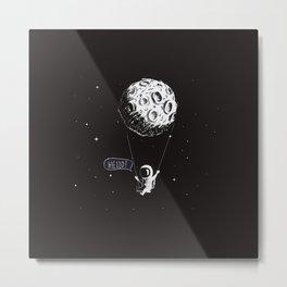 Swing Moon Metal Print