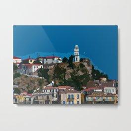 Poros Island - Greece Metal Print