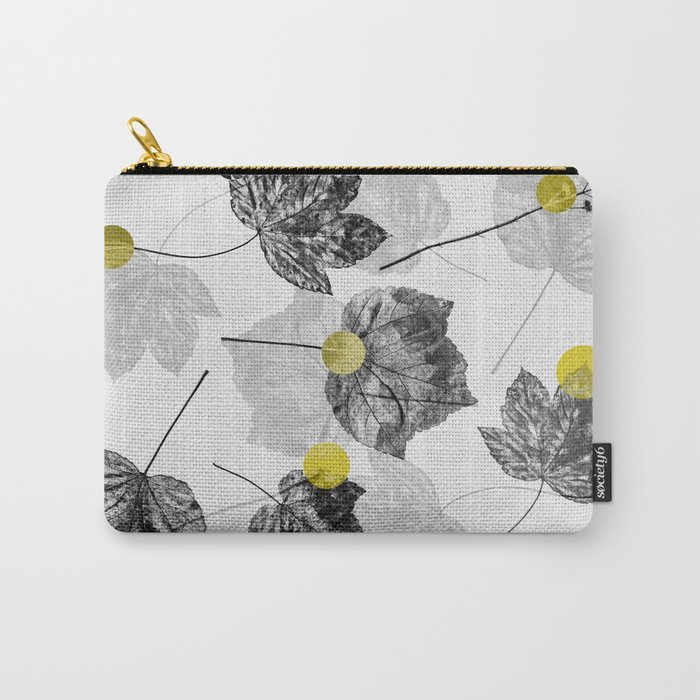 Leaves Abstract 1 Carry-All Pouch