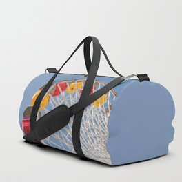 California Wheelin - Santa Monica Pier Duffle Bag
