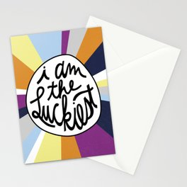 The Luckiest Stationery Cards