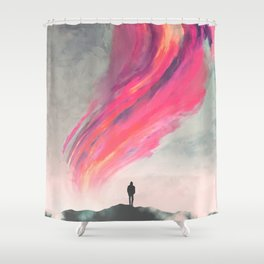 Where Fear Ends Shower Curtain