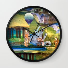 Tending to the Soul Wall Clock