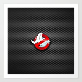 ghost busters Art Print