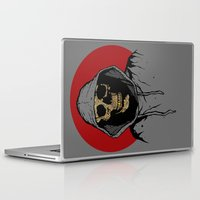 returns Laptop & iPad Skins featuring Skullboy Returns by Matthew Dunn