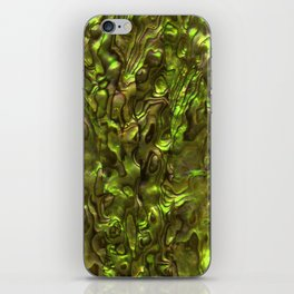 Abalone Shell | Paua Shell | Yellow Tint iPhone Skin