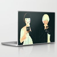 atlas Laptop & iPad Skins featuring CLOUD ATLAS by Itxaso Beistegui Illustrations