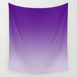 Violet to Pastel Violet Horizontal Linear Gradient Wall Tapestry